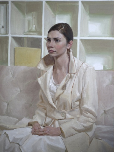 "Portrait by artist Mary Sauer which took ""Best of show"" in the Portrait Society of America's 2012 International Portrait Competition Winners."