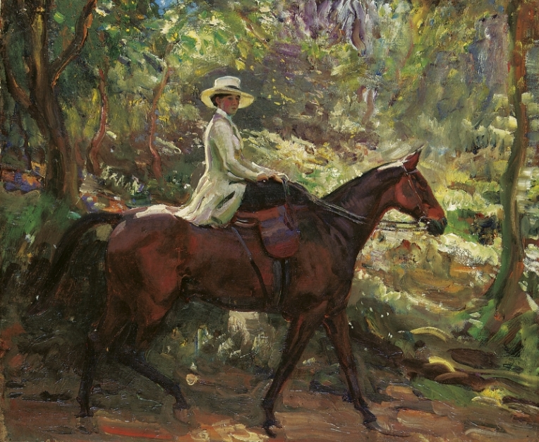 Munnings Alfred - The Morning Ride